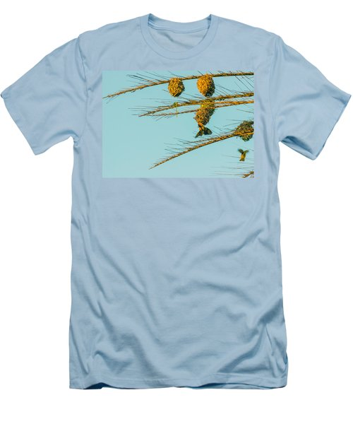 Weaver Birds Men's T-Shirt (Athletic Fit)