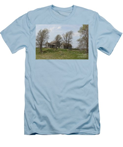 Welcome To The Farm Men's T-Shirt (Slim Fit) by Renie Rutten