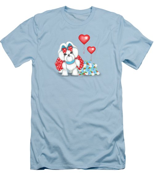 Welcome With Love  Men's T-Shirt (Athletic Fit)
