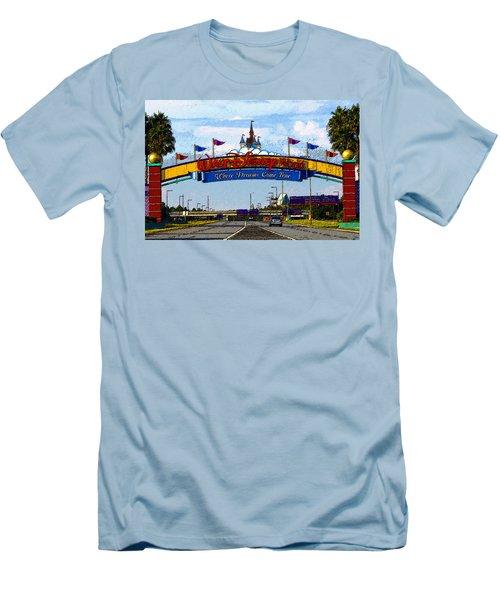 Were Dreams Come True Men's T-Shirt (Slim Fit) by David Lee Thompson