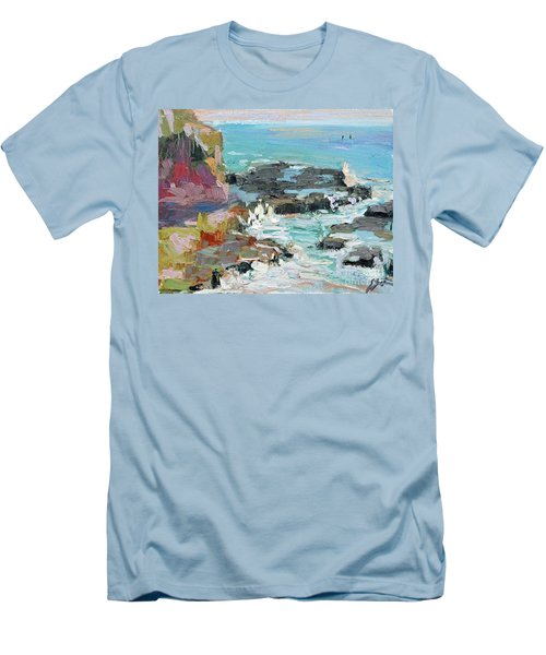 West Cliff Heat Men's T-Shirt (Athletic Fit)