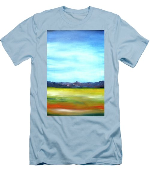West Texas Landscape Men's T-Shirt (Athletic Fit)
