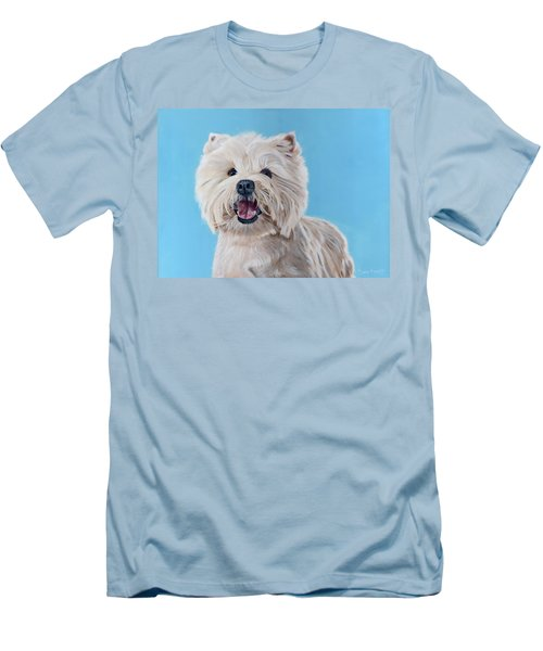 Westie Men's T-Shirt (Athletic Fit)