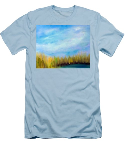Wetlands Morning Men's T-Shirt (Athletic Fit)