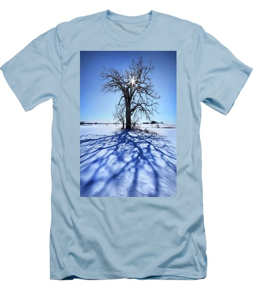 Men's T-Shirt (Slim Fit) featuring the photograph What I Am, What I Was, What I Will Be by Phil Koch
