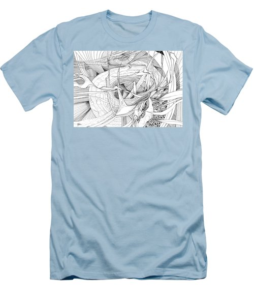 What Lies Within Men's T-Shirt (Slim Fit) by Charles Cater