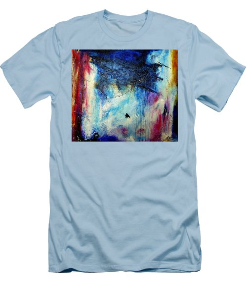 Where Does The Time Go Men's T-Shirt (Slim Fit) by Tracy Bonin