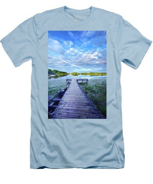 Where Dreams Are Dreamt Men's T-Shirt (Slim Fit) by Phil Koch