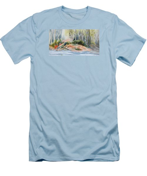 Whiteshell View Men's T-Shirt (Slim Fit) by Joanne Smoley