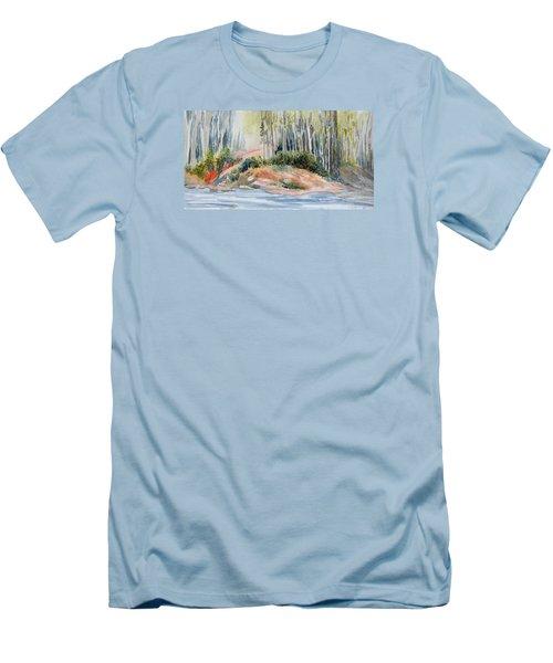 Whiteshell View Men's T-Shirt (Slim Fit) by Joanne Smoley