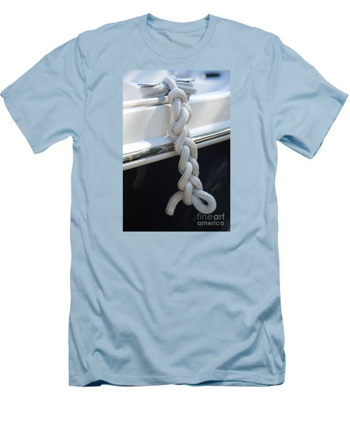 Men's T-Shirt (Slim Fit) featuring the photograph Why Knot? by Sandy Molinaro