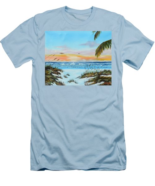 Why Not Siesta Key Men's T-Shirt (Athletic Fit)