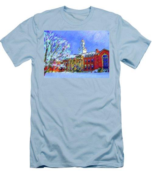 Wilbur Library  Uconn Men's T-Shirt (Athletic Fit)