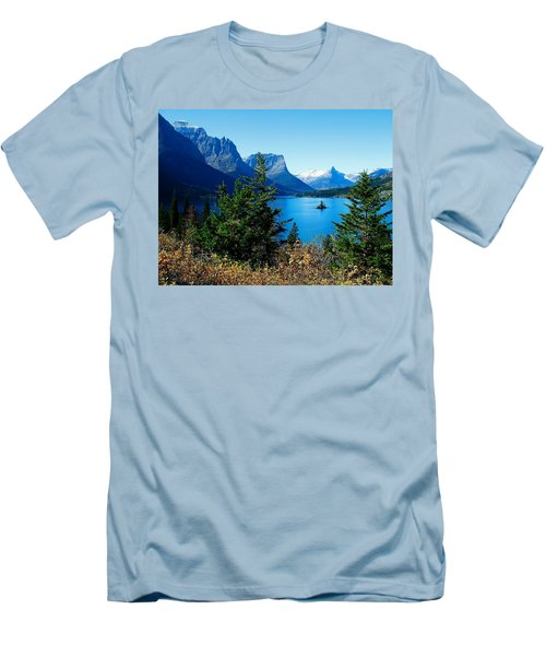 Wild Goose Island In The Fall Men's T-Shirt (Athletic Fit)