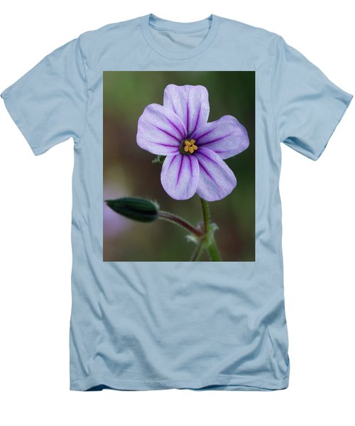 Wilderness Flower 3 Men's T-Shirt (Athletic Fit)