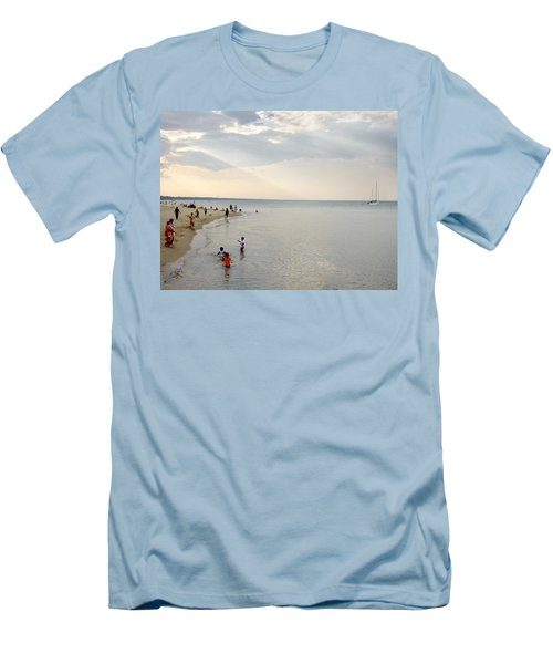 Wilmette Beach Labor Day 2009 Men's T-Shirt (Athletic Fit)
