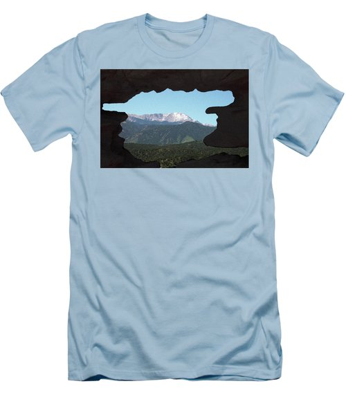 Window To Pikes Peak Men's T-Shirt (Athletic Fit)