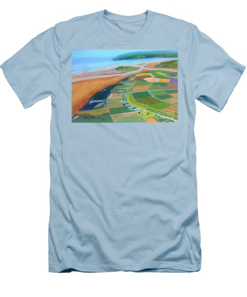 Wings Over Grand Pre' Men's T-Shirt (Slim Fit) by Rae  Smith
