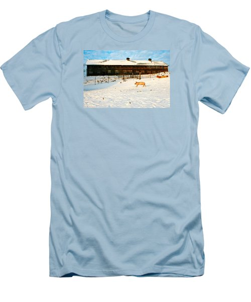 Winnie At Heartland Farm Sanctuary Men's T-Shirt (Athletic Fit)