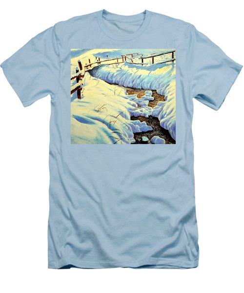 Winter Brook Men's T-Shirt (Athletic Fit)