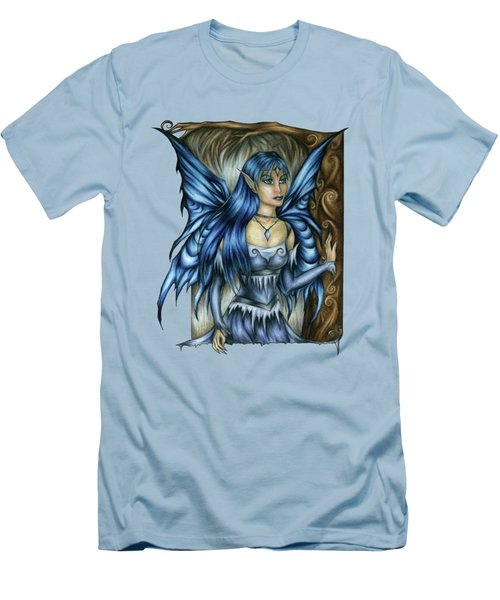 Winter Fairy Drawing Men's T-Shirt (Athletic Fit)
