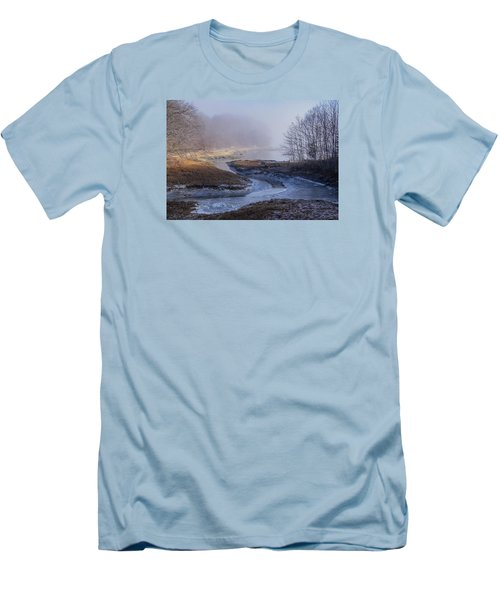 Winter Inlet Men's T-Shirt (Athletic Fit)