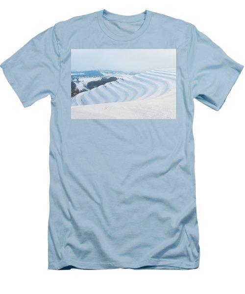Winter Lines Men's T-Shirt (Athletic Fit)