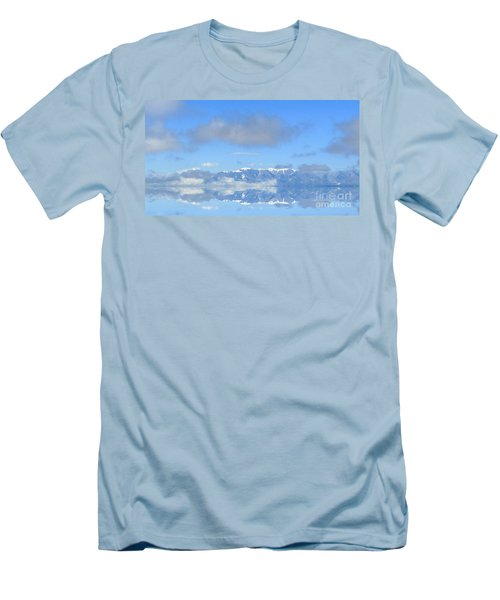 Winter On The Lake Men's T-Shirt (Athletic Fit)