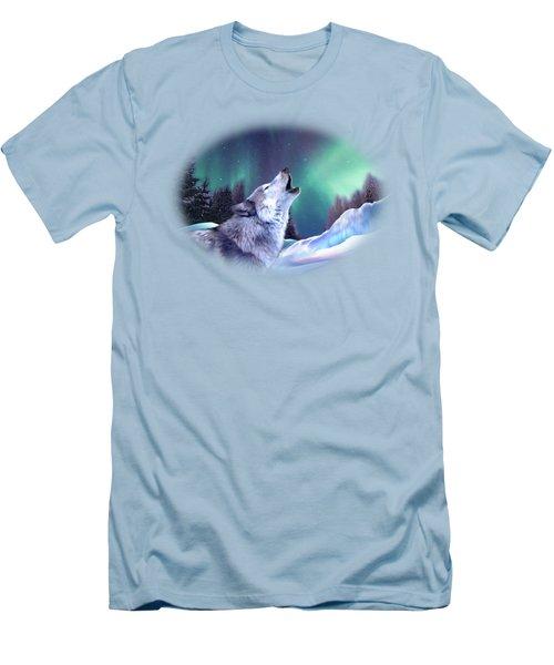 Winter Wolf Men's T-Shirt (Athletic Fit)
