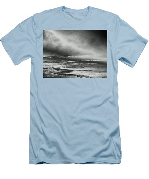 Men's T-Shirt (Slim Fit) featuring the photograph Winter's Song by Steven Huszar