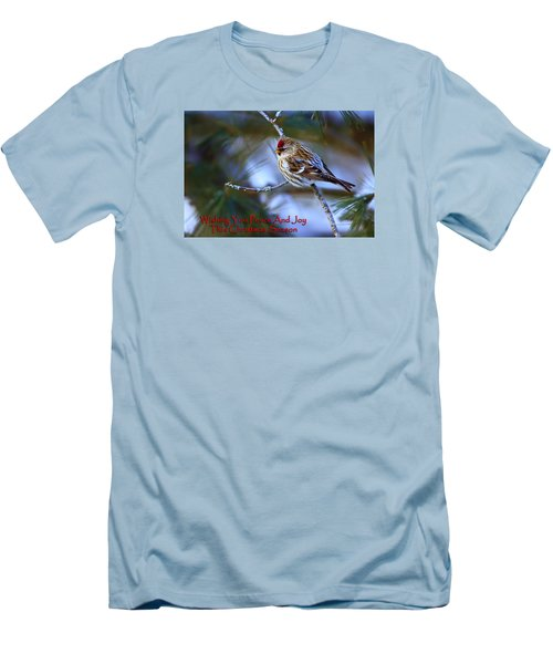 Men's T-Shirt (Slim Fit) featuring the photograph Wishing You Peace And Joy by Gary Hall