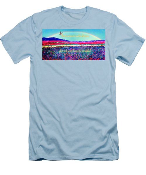 Wishing You The Sunshine Of Tomorrow Bereavement Card Men's T-Shirt (Athletic Fit)