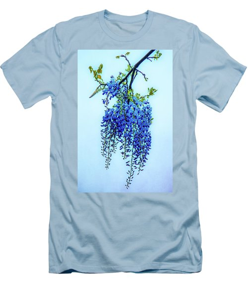 Men's T-Shirt (Slim Fit) featuring the photograph Wisteria by Chris Lord