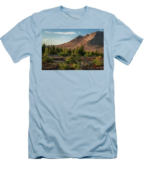 Wolverine Mt Near Sunset Men's T-Shirt (Athletic Fit)