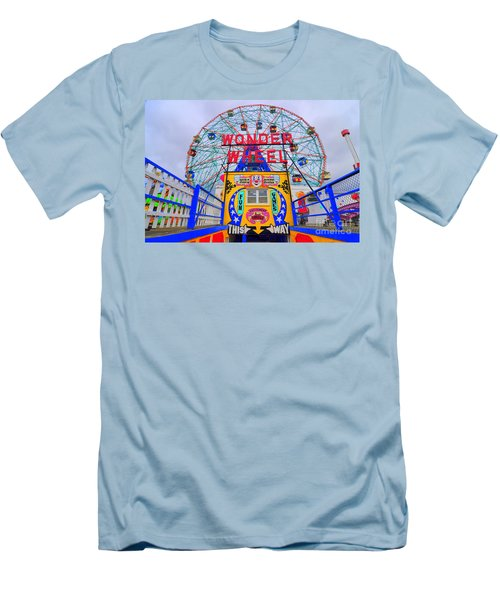 Wonder Wheel Men's T-Shirt (Athletic Fit)