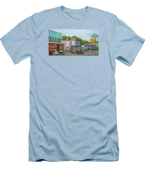 Wonderful Memories Of The Wal-lex Men's T-Shirt (Slim Fit) by Rita Brown