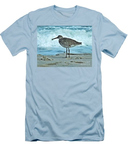 Wonderful Willet  Men's T-Shirt (Athletic Fit)