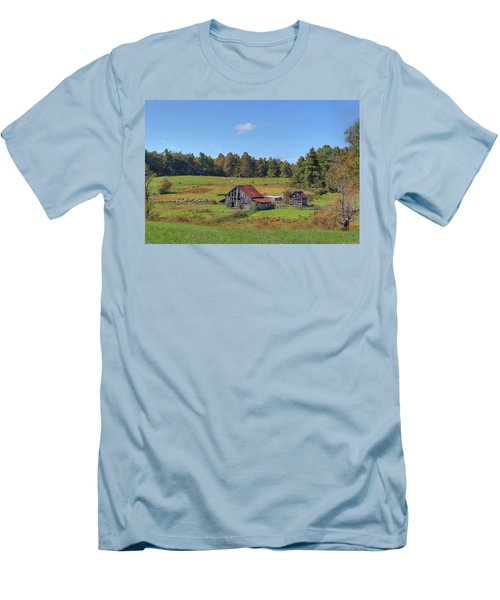 Men's T-Shirt (Slim Fit) featuring the digital art Worn Out by Sharon Batdorf