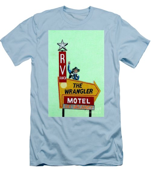 Wrangler Motel Men's T-Shirt (Athletic Fit)