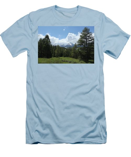 Wyoming 6500 Men's T-Shirt (Athletic Fit)
