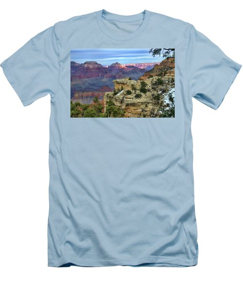 Yavapai Point Sunset Men's T-Shirt (Athletic Fit)