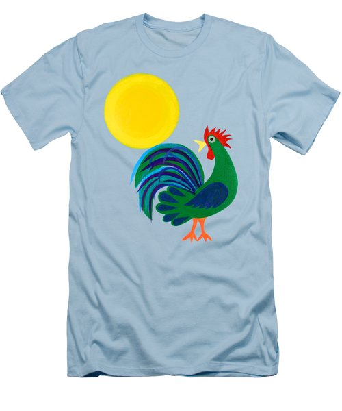 Year Of The Rooster Men's T-Shirt (Athletic Fit)