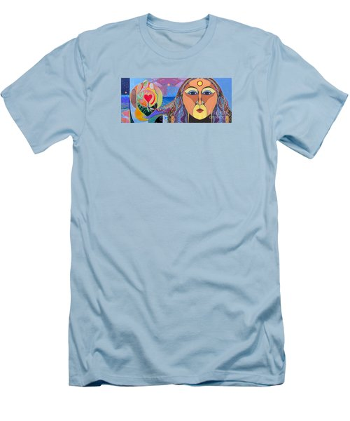Yes We Can Men's T-Shirt (Slim Fit) by Helena Tiainen