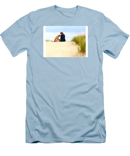 Men's T-Shirt (Slim Fit) featuring the photograph You Are My Sunshine by Dana DiPasquale
