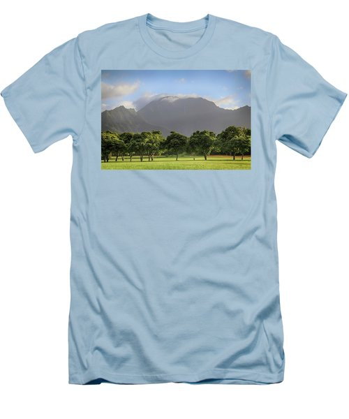 Men's T-Shirt (Slim Fit) featuring the photograph You Still Can Touch My Heart by Laurie Search