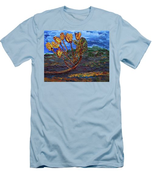 Men's T-Shirt (Athletic Fit) featuring the painting Youth Time by Vadim Levin