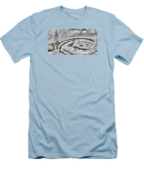 Yury Bashkin My Rain City Men's T-Shirt (Slim Fit) by Yury Bashkin