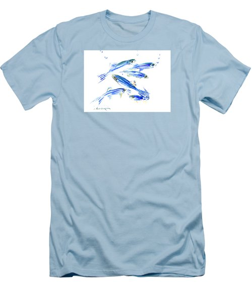 Zebra Fish, Danio Men's T-Shirt (Athletic Fit)