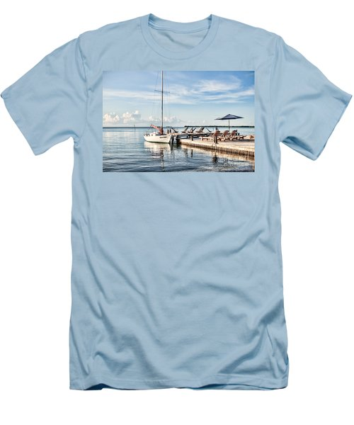 Zen Say Men's T-Shirt (Slim Fit) by Lawrence Burry