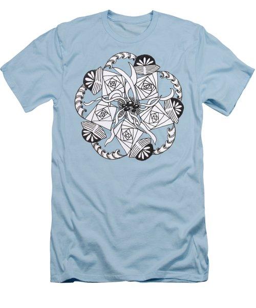 Zendala Seaweed Men's T-Shirt (Athletic Fit)